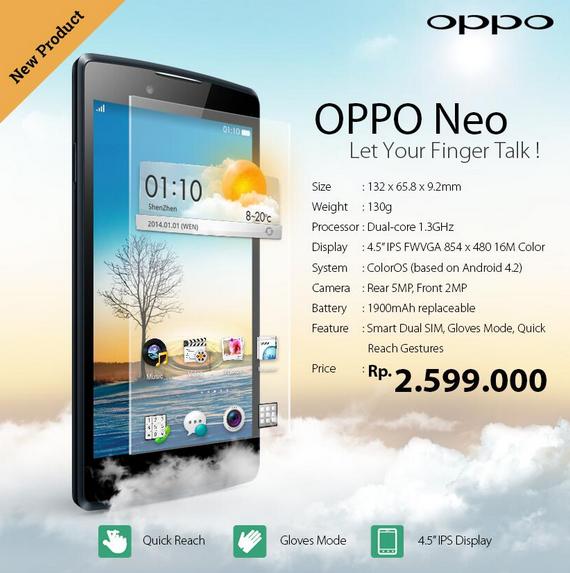 Oppo Neo 2