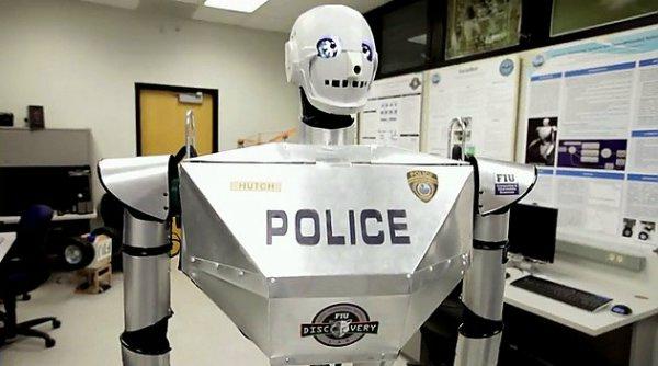 TeleBot робот-полицейский