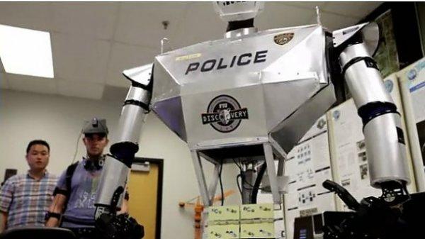 Робот-полицейский TeleBot