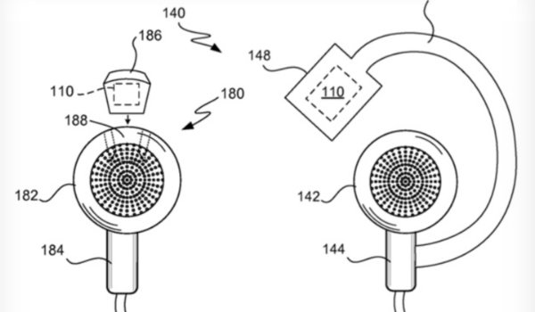 """умные наушники"" патент Apple"
