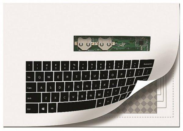 Распечатанная клавиатура
