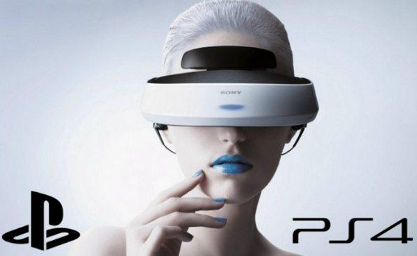 Виртуальный шлем Sony