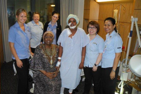 Ayan Oma Muhumed после операции