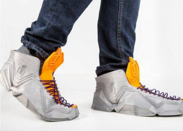 печатные кроссовки