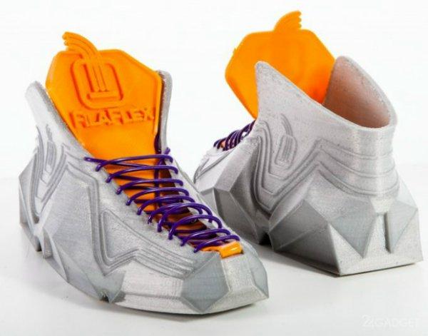 кроссовки, распечатанные на 3D принтере