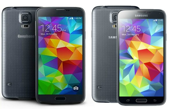 Goophone - копия Galaxy S5