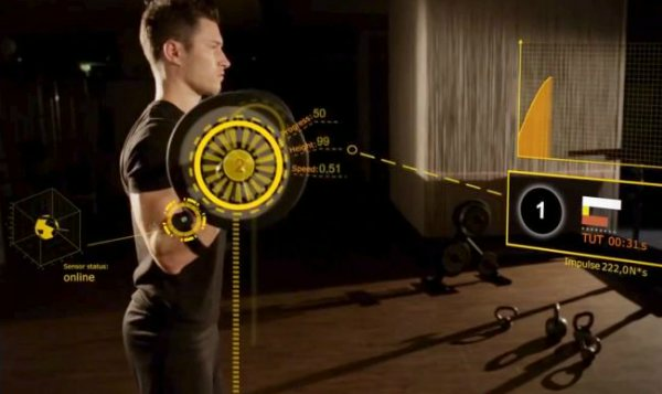 Gymwatch фитнес-браслет