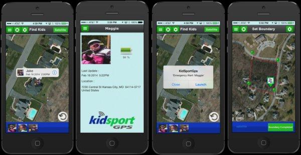 Kidsport GPS браслет