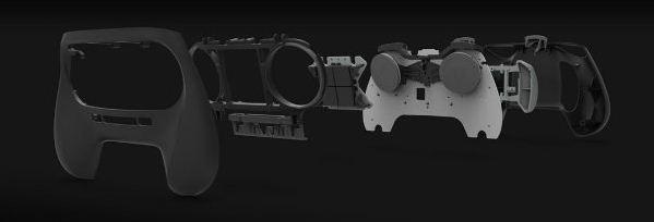 Steam Controller – 3D-печатный геймпад