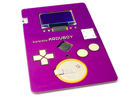Визитная карточка ArduBoy