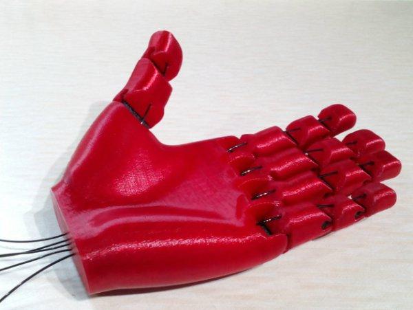 3D-печатная рука Flexy-Hand