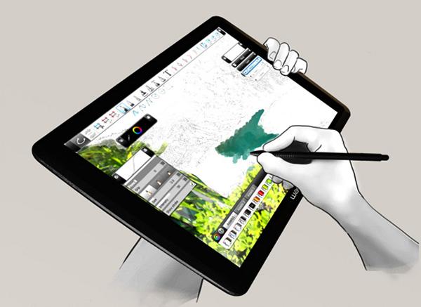 планшет для набросков со стилусом