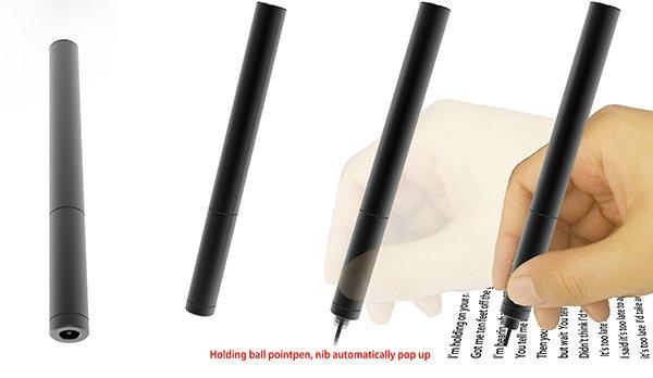 Ручка от дизайнера Wenhaowang