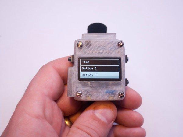 3D-печатные умные часы