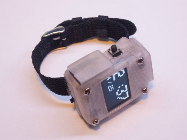 OSWatch 3D-печатные часы