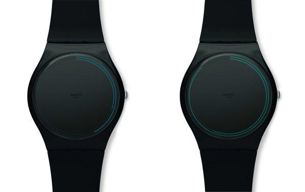 Swatch Ring необычные часы