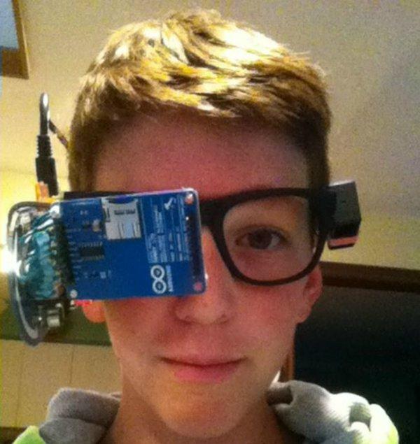 DIY GoogleGlass умные очки