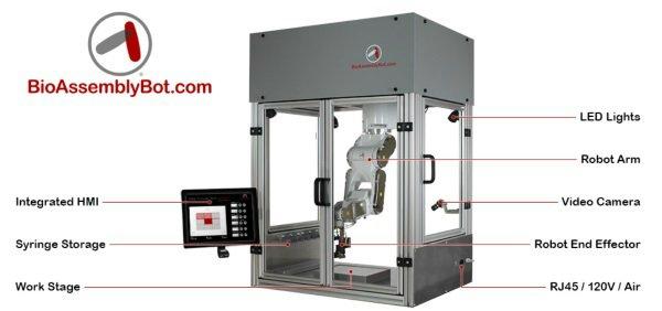BioAssemblyBot конструкция