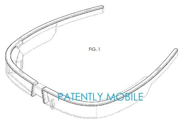 GoogleGlass новый дизайн