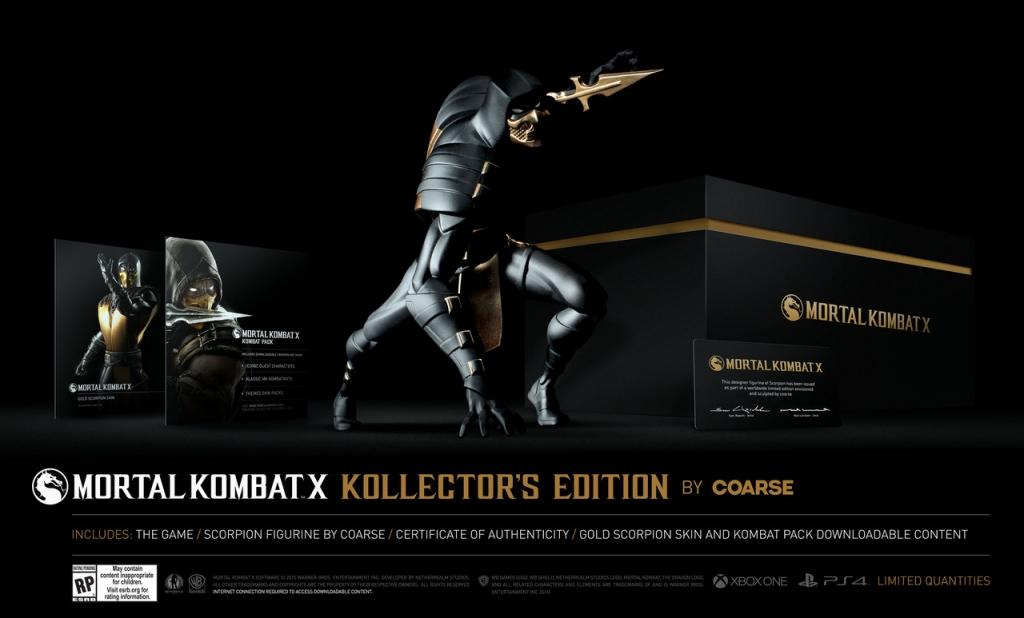 Подробности эксклюзивного издания Mortal Kombat X