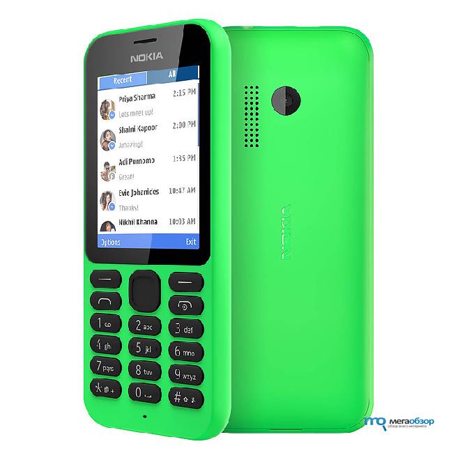 Поступил в продажу самый дешевый смартфон Microsoft — Nokia 215