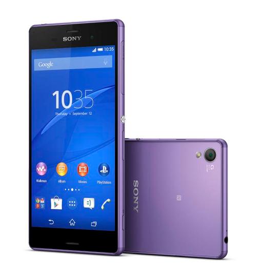 Sony анонсировала старт продаж фиолетового Xperia Z3 в России